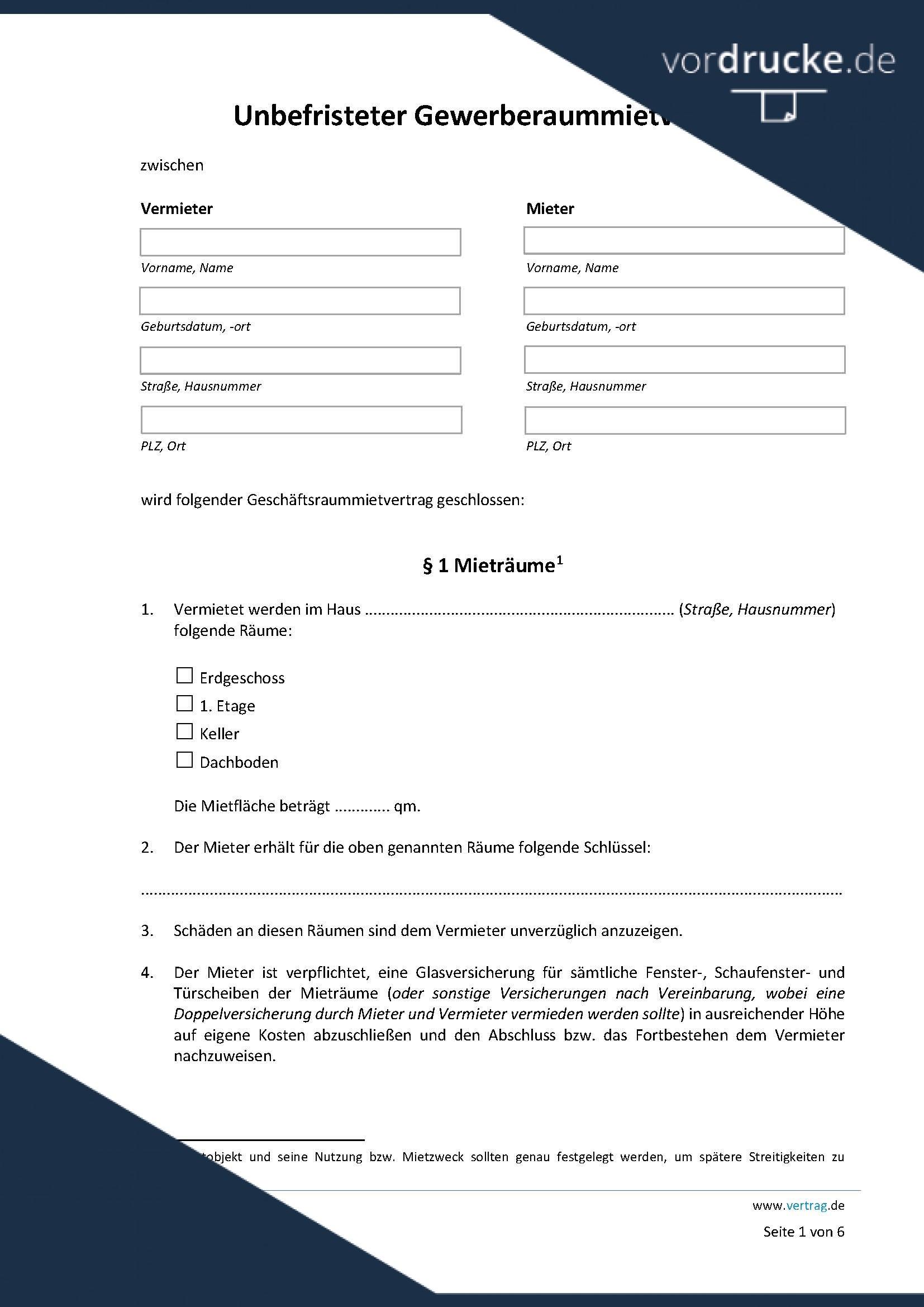 Mieterhohung Kostenlose Vorlagen 7